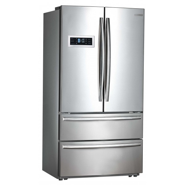 Refrigerador Crissair French Door Inox 127V