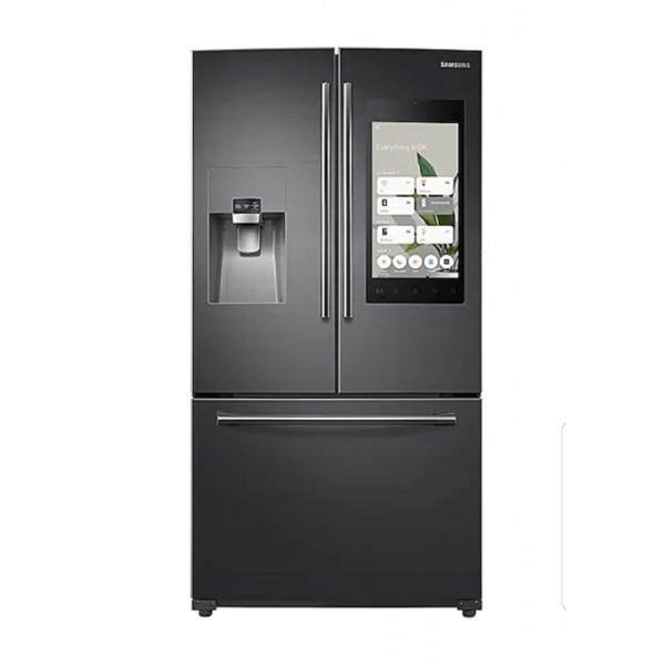 Geladeira Samsung French Door Family Hub 582L Black